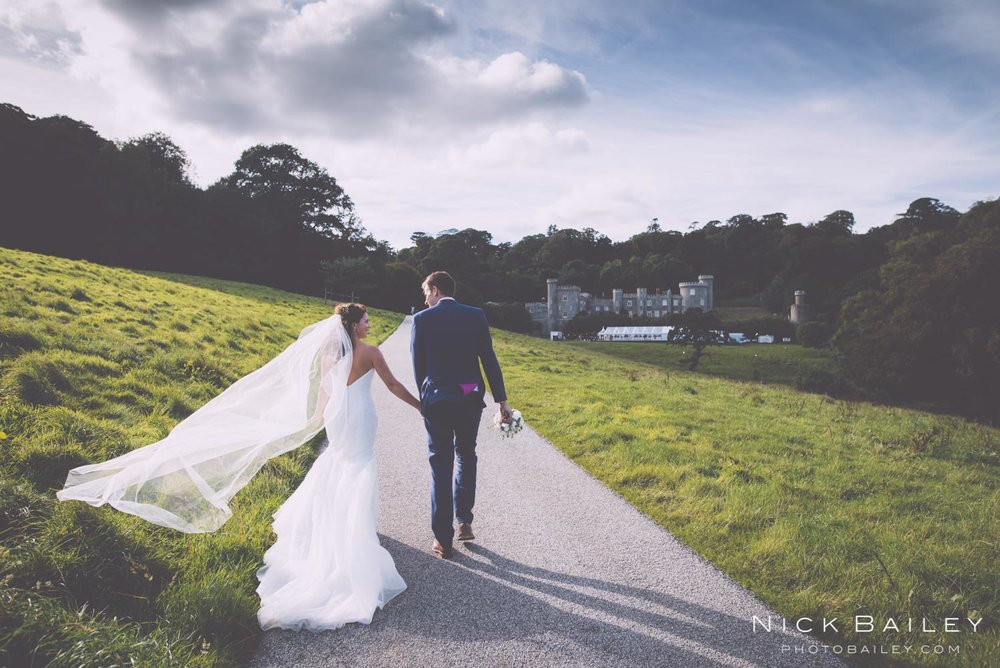 Harriet & Tom @caerhays castle