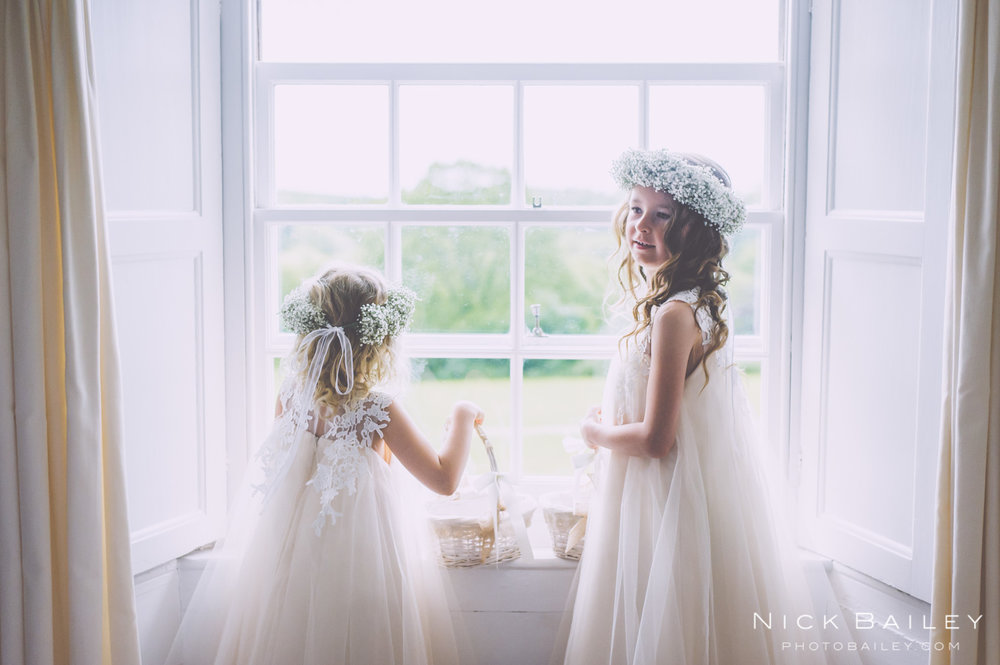 Flower girls  @tredudewell manor