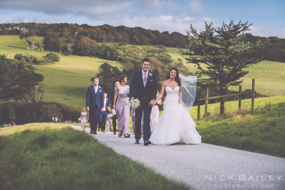 Caerhays Castle Wedding