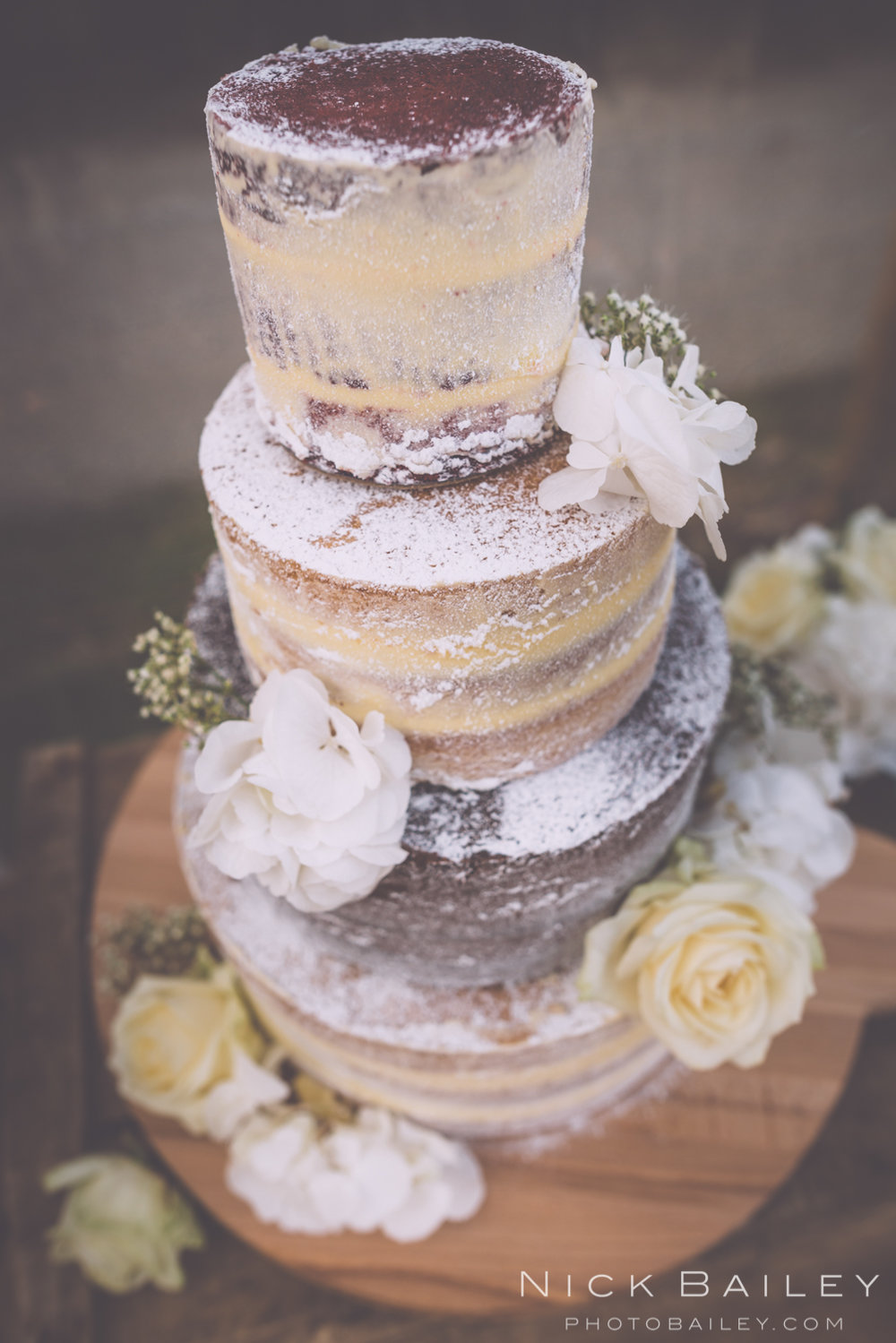 Wedding cake Caerhays Castle