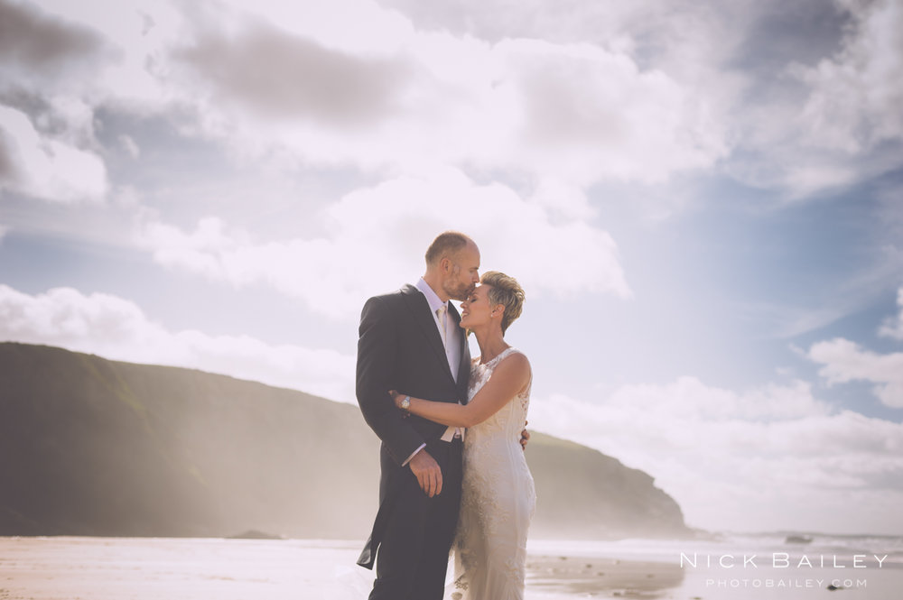 Laura & Mark's Elopement  @The Scarlet Hotel