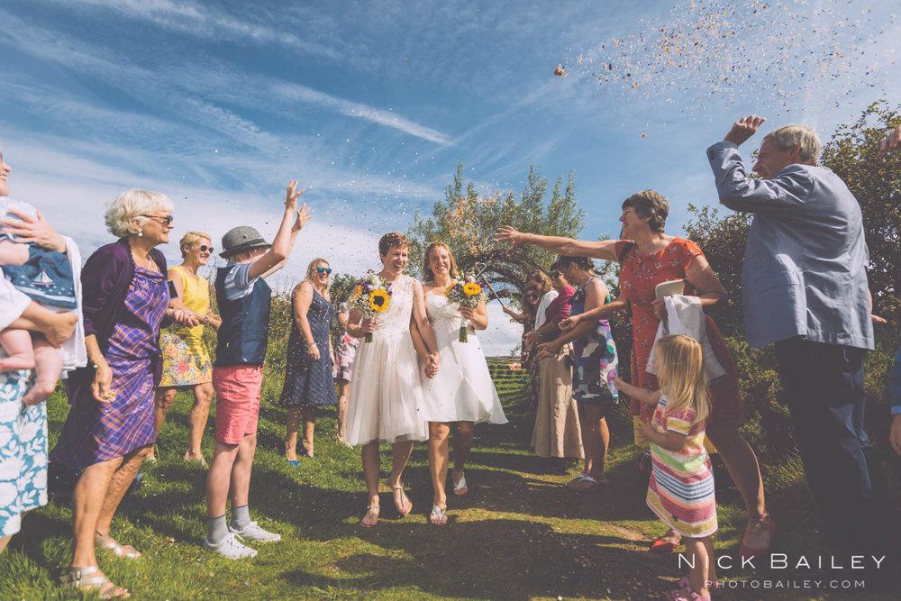 porthtowan eco park wedding