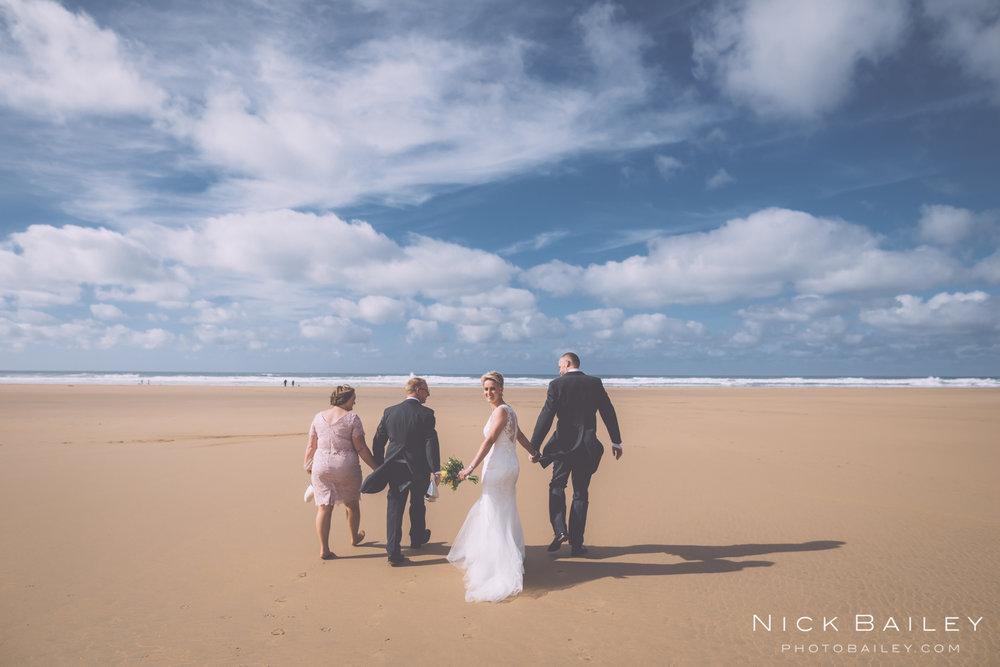 Scarlet Hotel beach Wedding