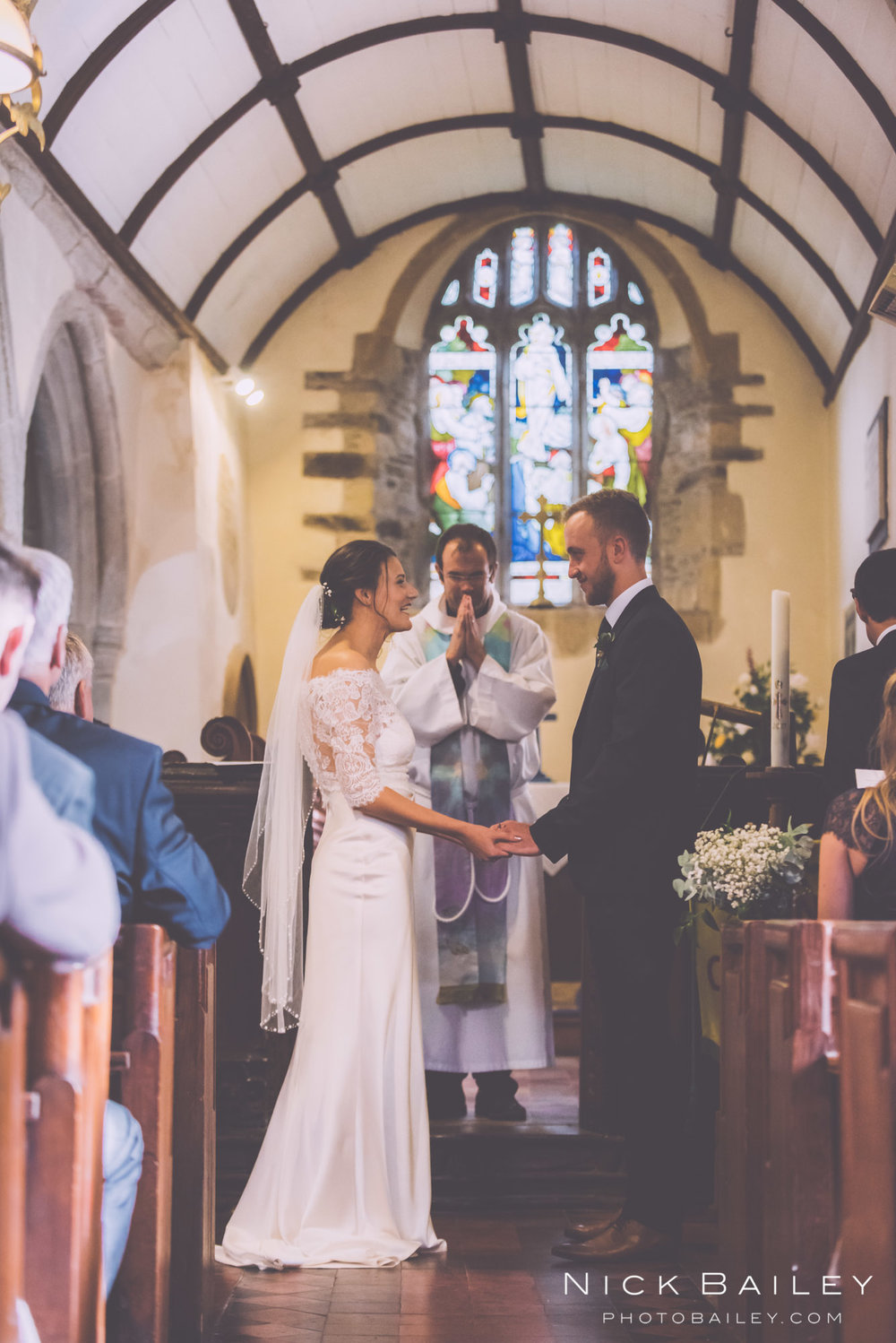 St Colan Church Wedding