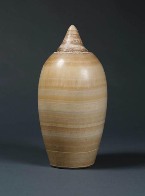 An Egypto Roman Alabaster Vase Carcaci
