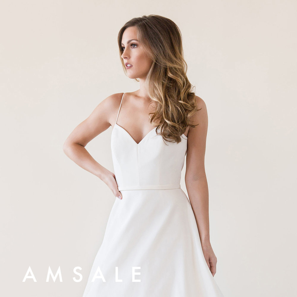 Amsale Rowan Gown