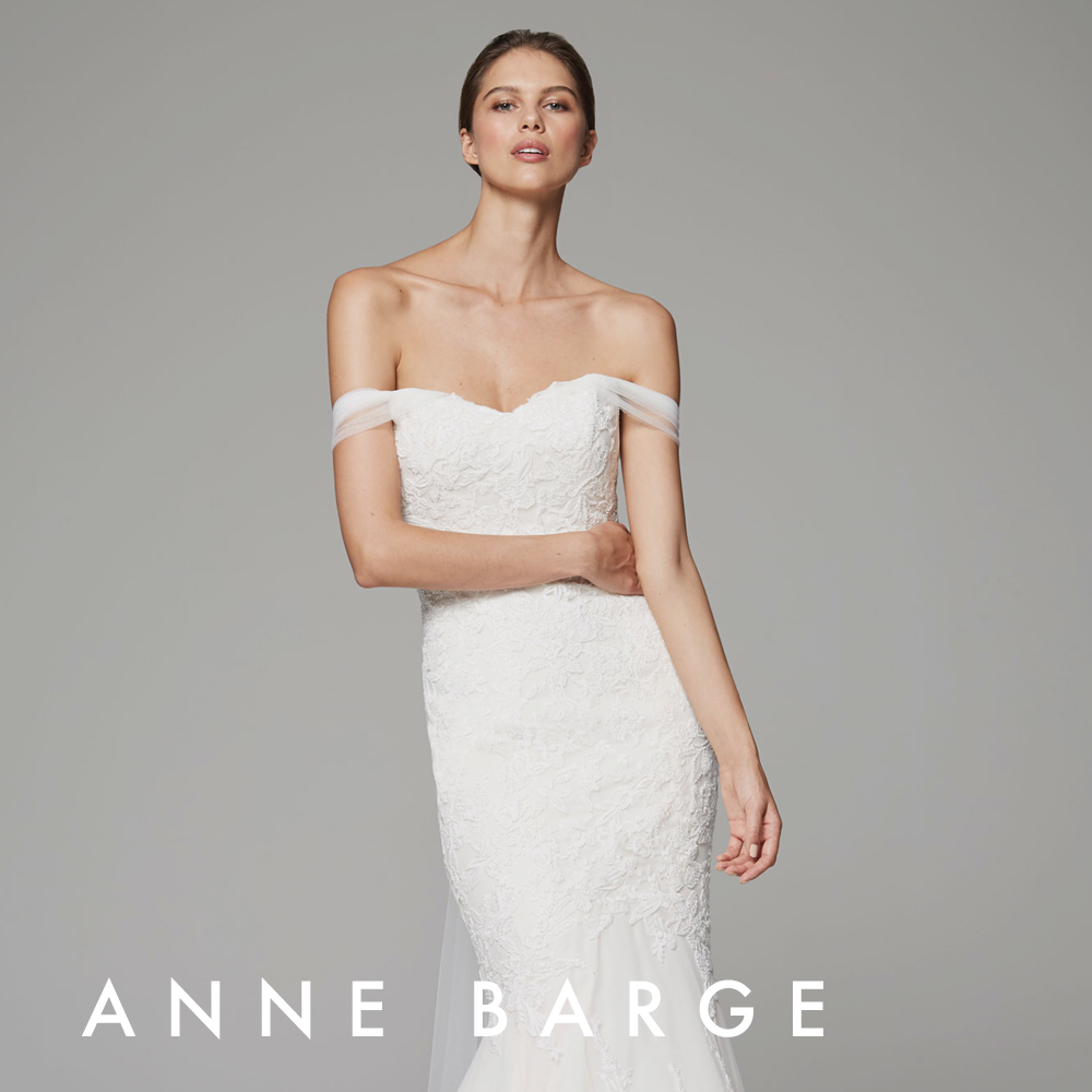 Anne Barge Raven gown