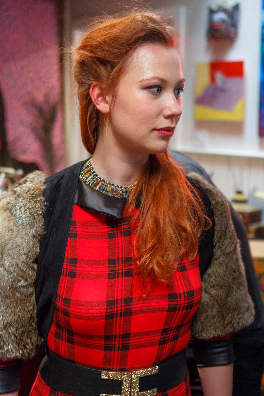 Louise Salter in 'Strings'