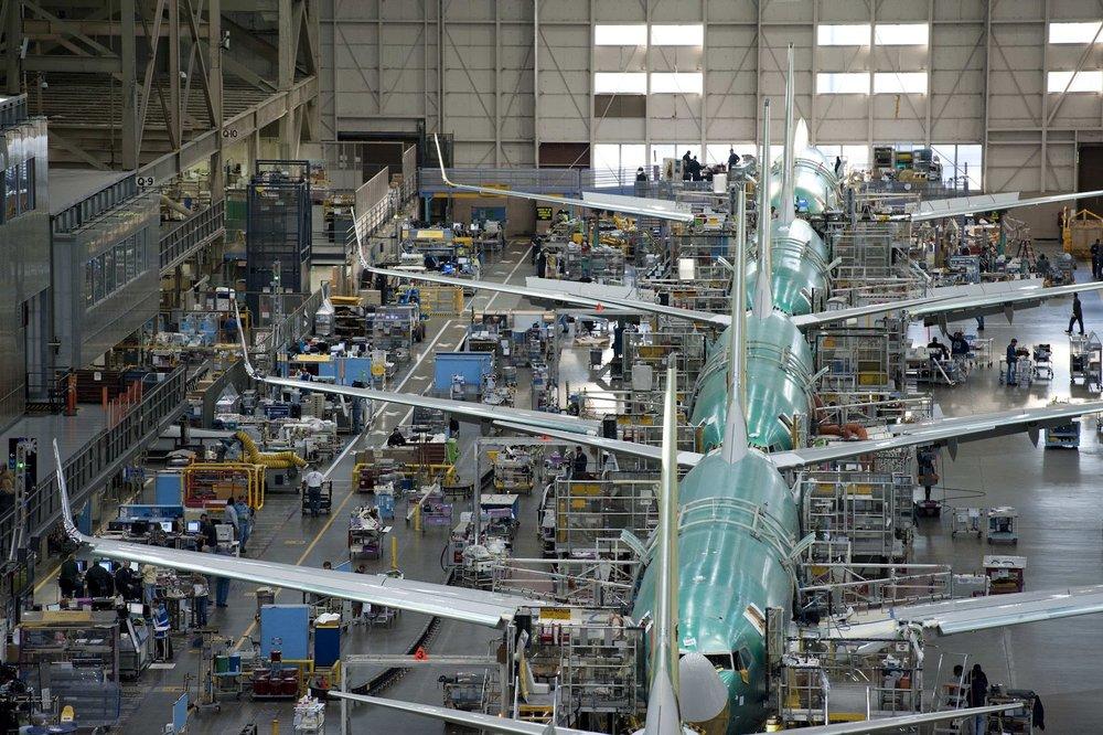 Boeing (Everett, WA): 19.45 Mile Drive