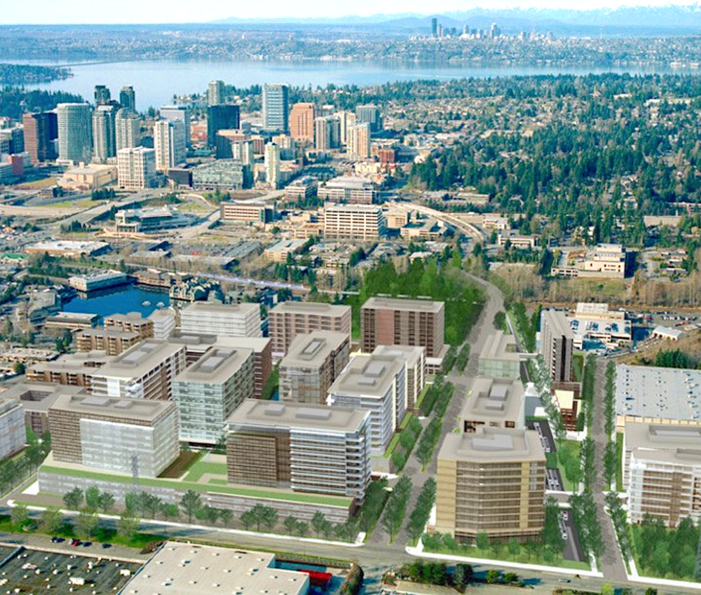 Conceptual Redevelopment   Source: City of Bellevue