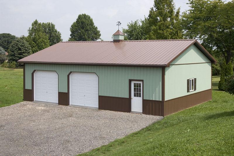 Building myths aj buildings llc for 40x40 garage kit