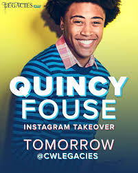 "Quincy is currently on the hit CW show, LEGACIES. He is also in the last Wolverine film, ""LOGAN"" and also reoccurring in ""THE GOLDBERGS"". He is an an alumni of our first camp and is possible to talk to the kids at camp if his schedule permits."