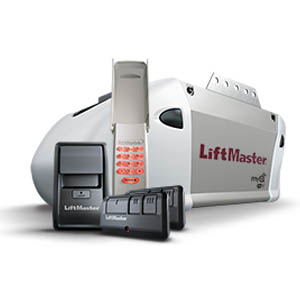 Lift-Master Premium Series 8365w-267 1/2 HP motor, Chain Drive, MyQ & Security 2.0+, Package includes 2 remotes and Keyless entry system.