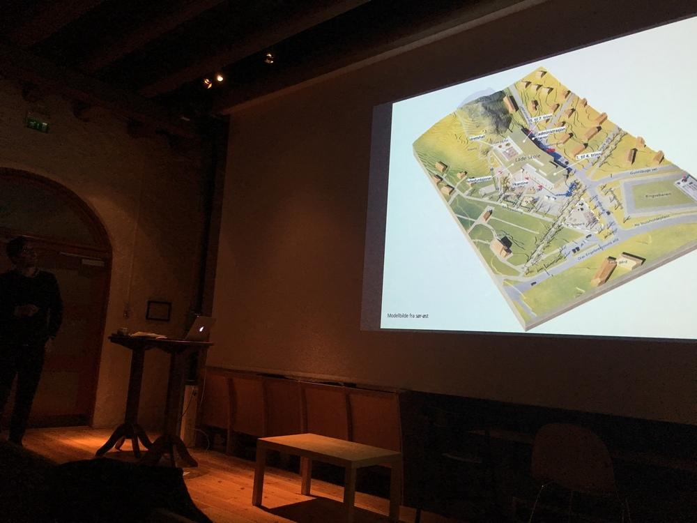 Arkitekt Lars Bølviken forteller om den nye skolen.