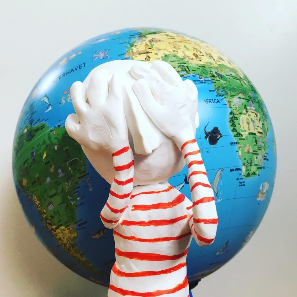 Varmer opp globalt til innlevering.