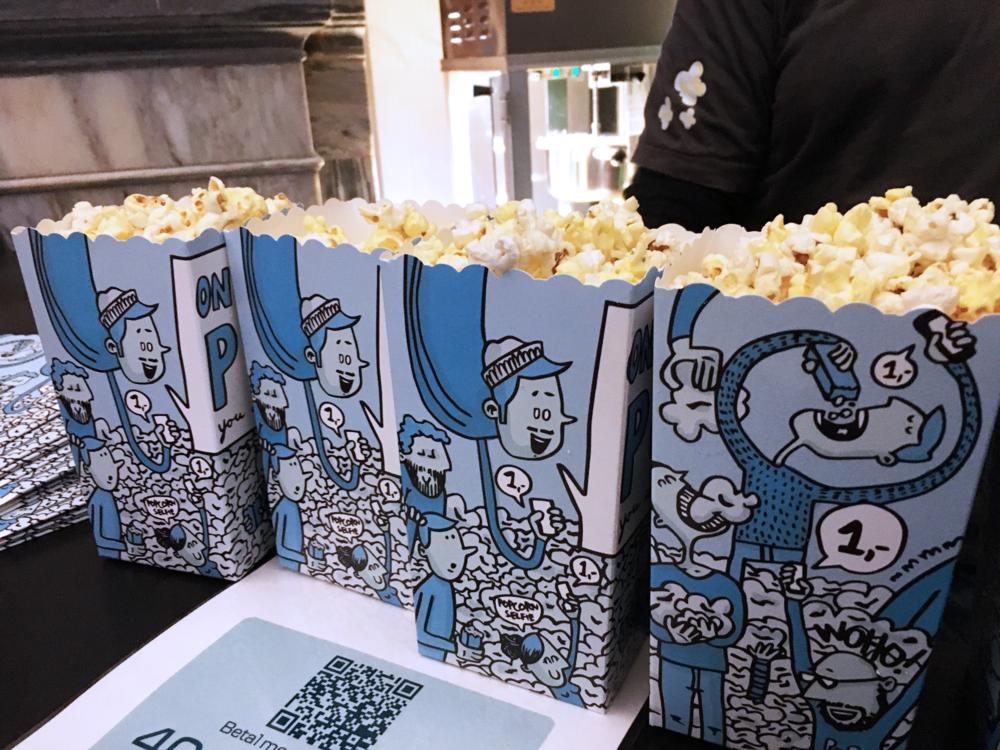 Jeg vet ikke med deg, men jeg fikk lyst på popcorn nå.