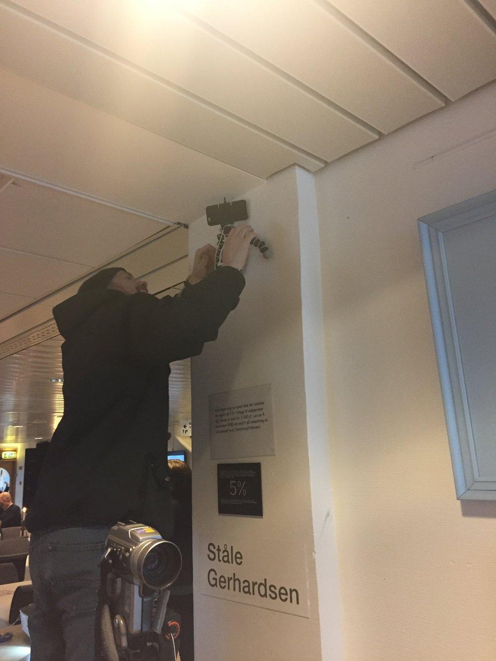 Spionkameraoppsetting™