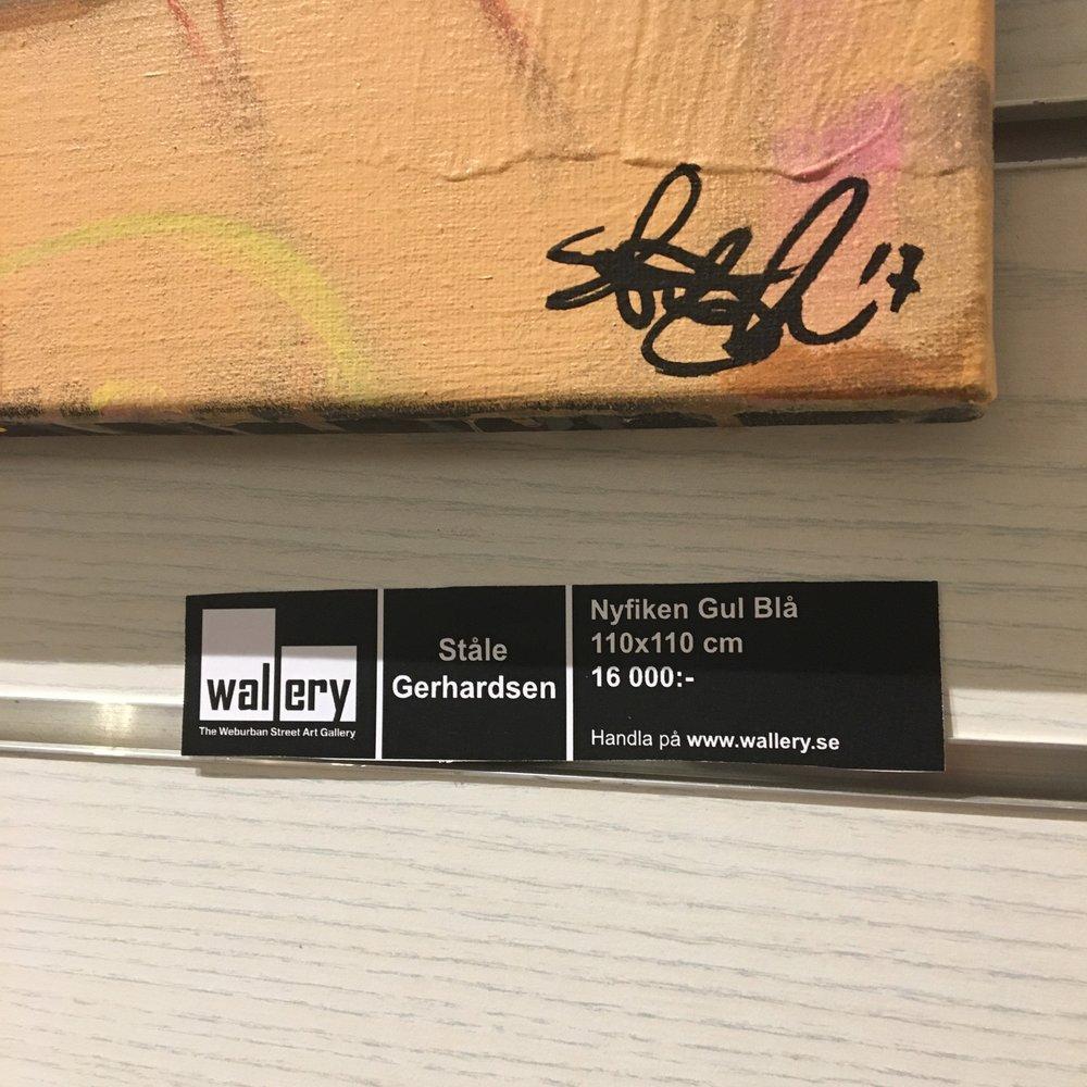 Se der, nå kan du kjøpe norsk kunst i Sverige om du vil..