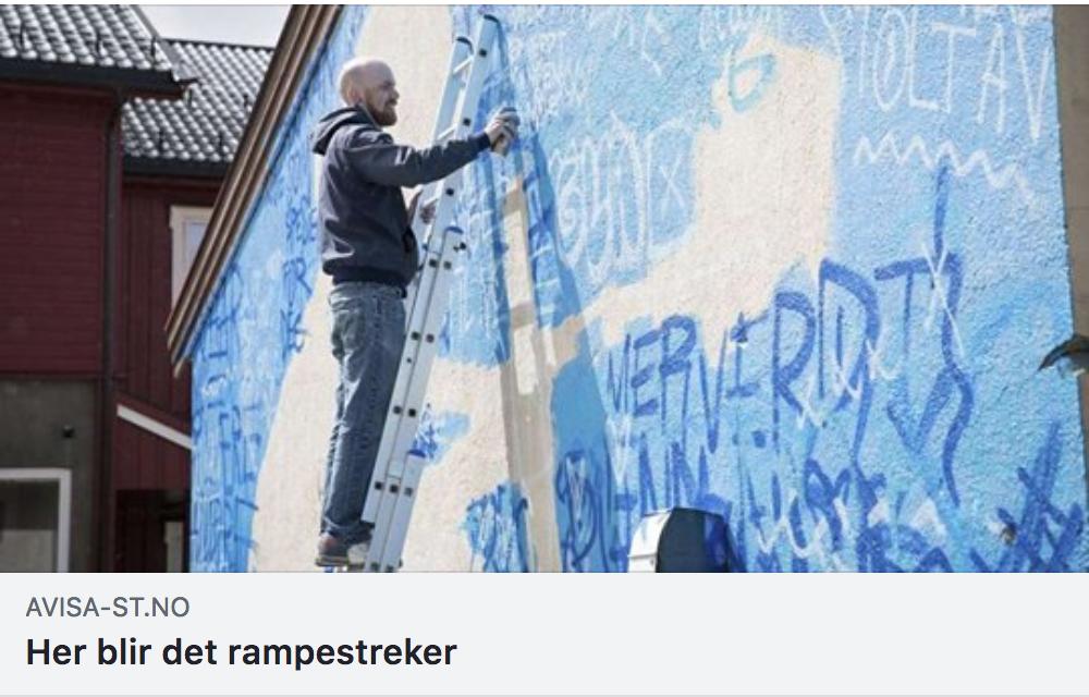 Skjermdump fra Avisa Sør-Trøndelag