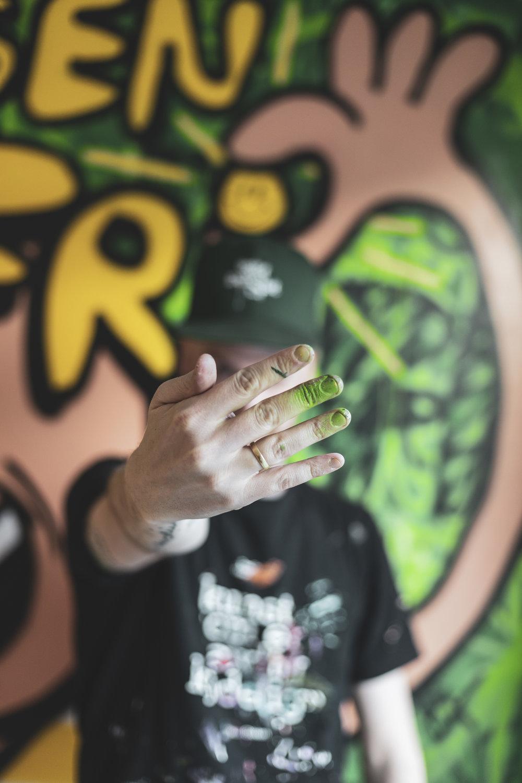 Grønne fingre. Nesten som en gartner å regne.