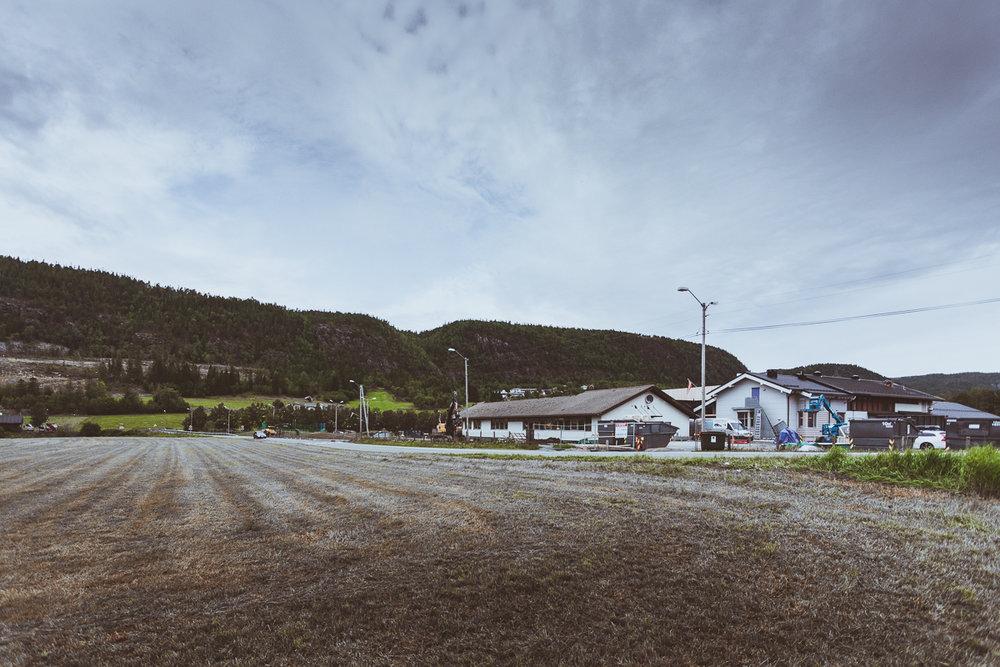 Mælan skole i Sørfjorden.
