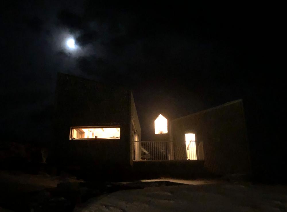 Synet som møtte meg da jeg ankom øya i stappmørket.