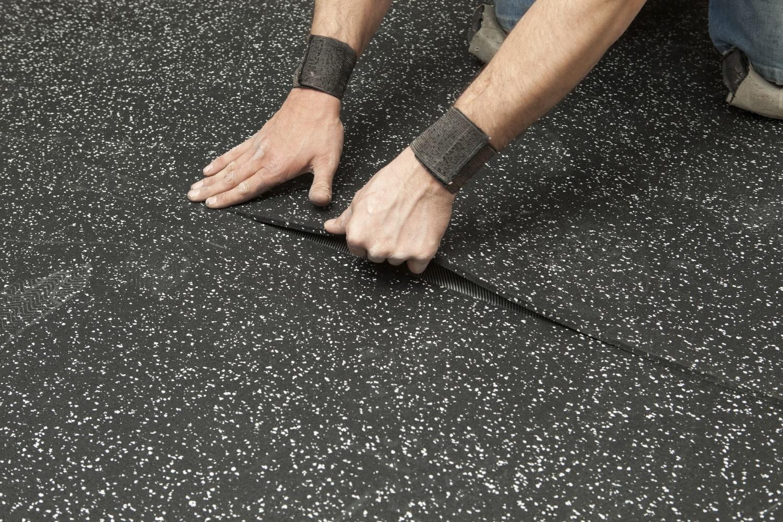 Rubber mats alberta - Installation