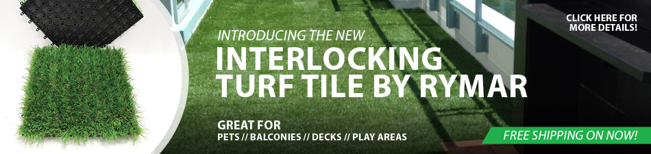 INTERLOCKING TURF TILES