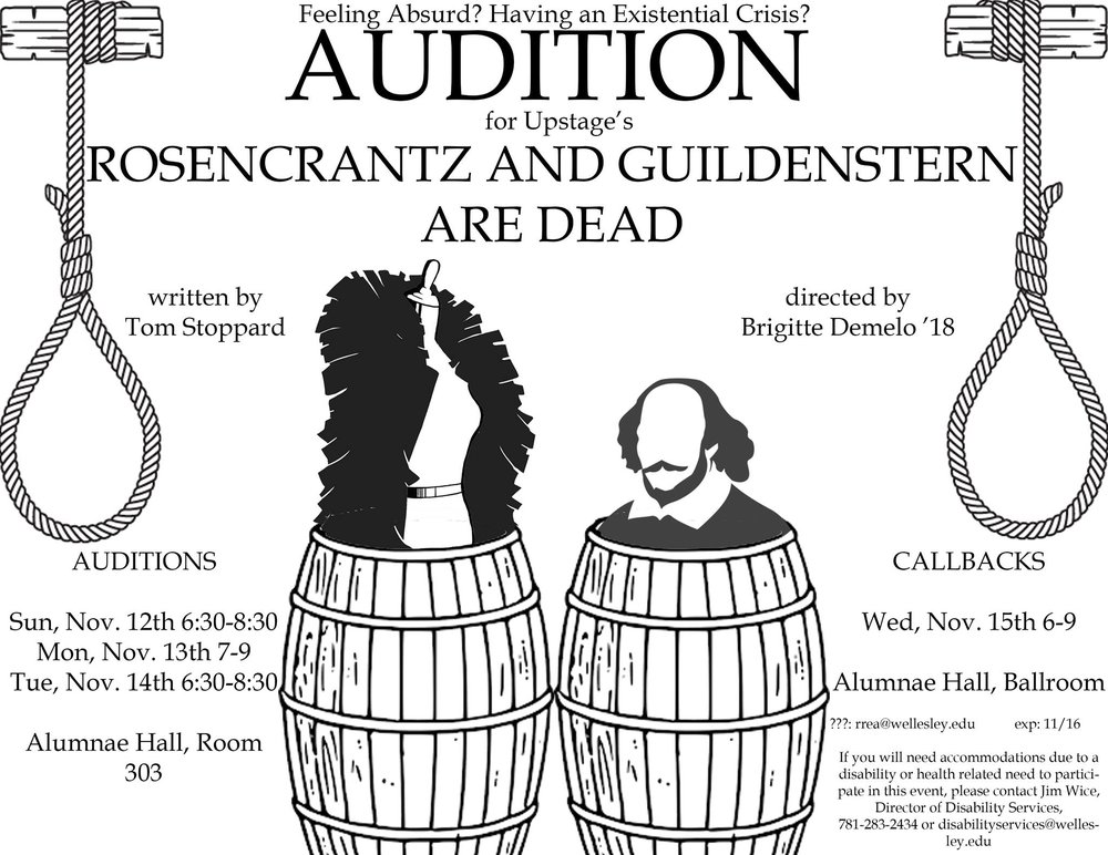 the play rosencrantz and guildenstern are dead by tom stoppard Sir tom stoppard is a czech-born british playwright whose famous works include rosencrantz and guildenstern are dead (1964) and every good boy deserves favour (1978) he co-wrote the screenplay.