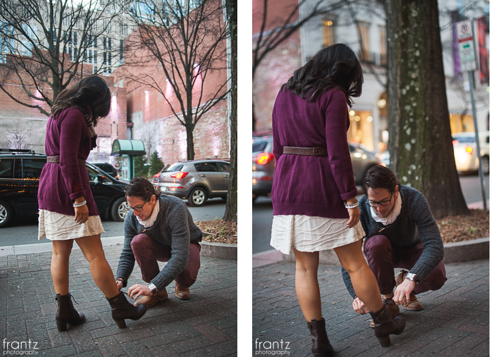 1021-Jill and Nick-Uptown Charlotte Engagement