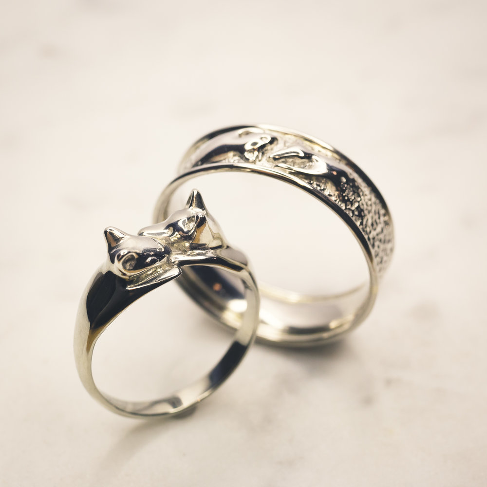 Wedding and Engagement Rings Puccoon Raccoon