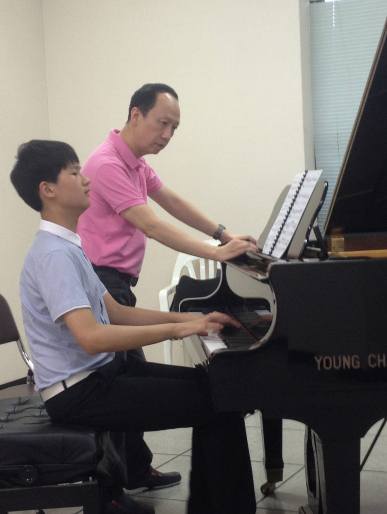 Lesson with Tang Jie Chen from China