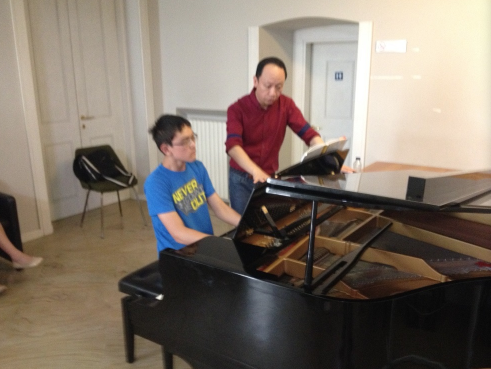 Masterclass with Xiao Long Philips