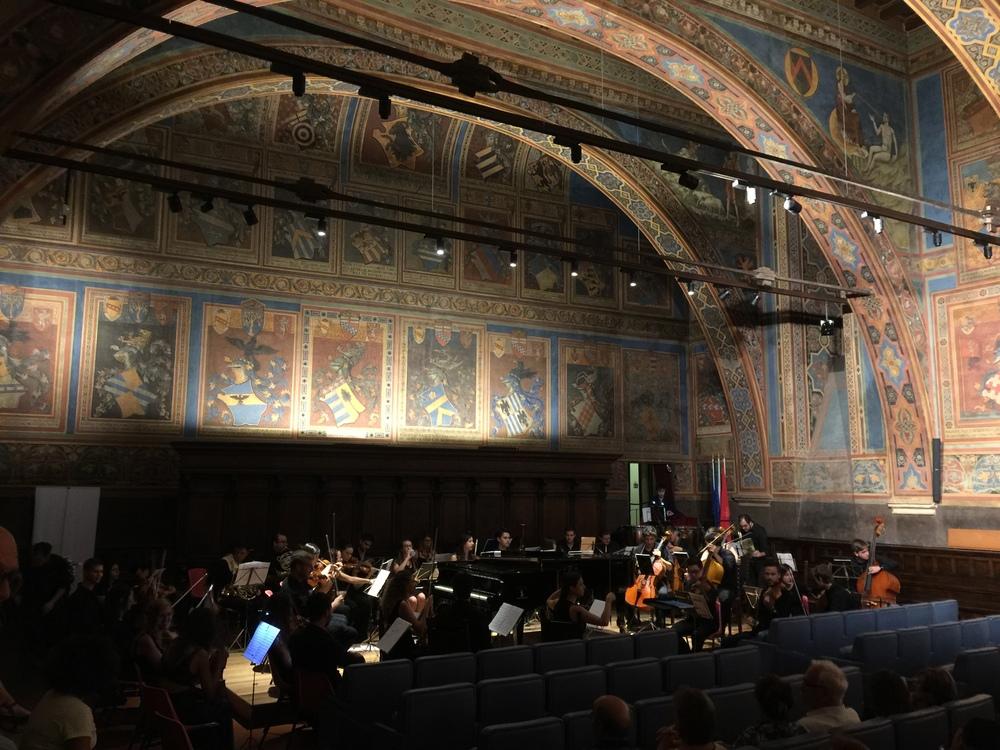 Concert venue: Sala di Notari