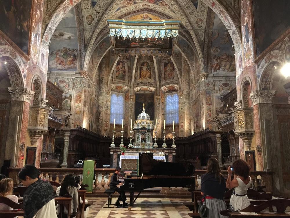 Concert venue: Basilica di St. Pedro