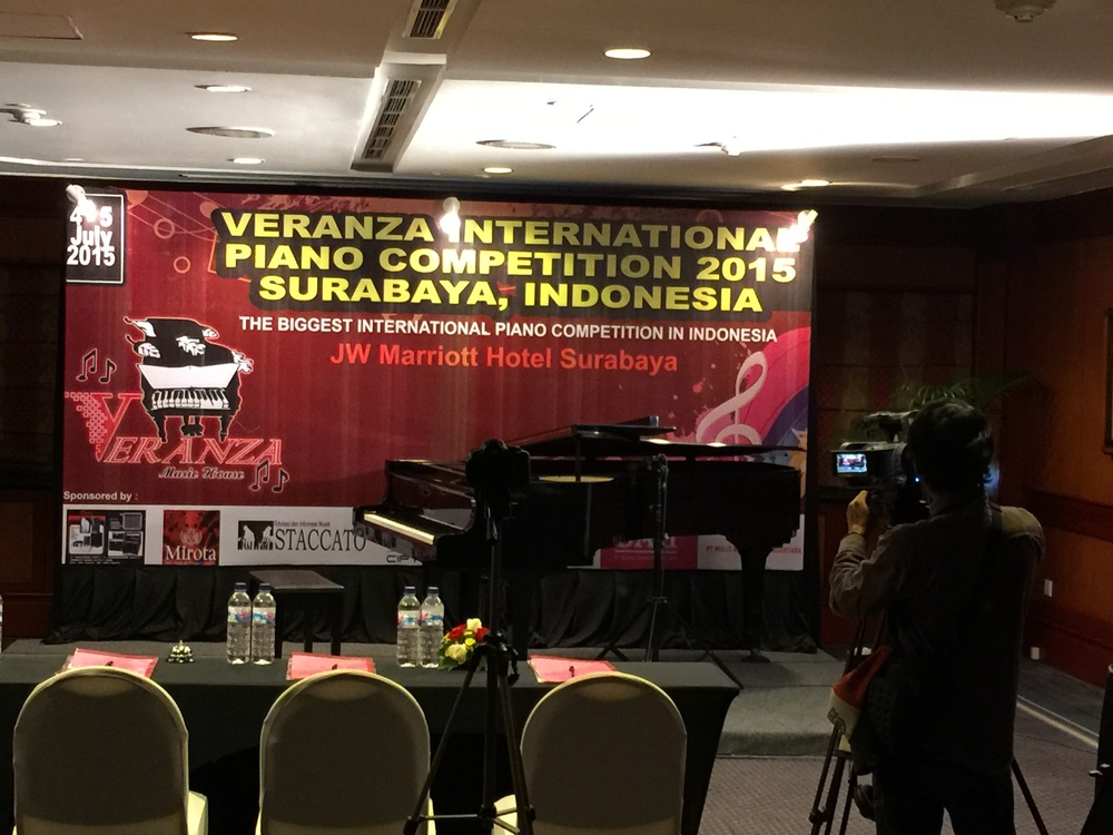 Competition held at the JW Marriott Hotel, Surabaya, Indonesia on July 4 & 5, 2015.