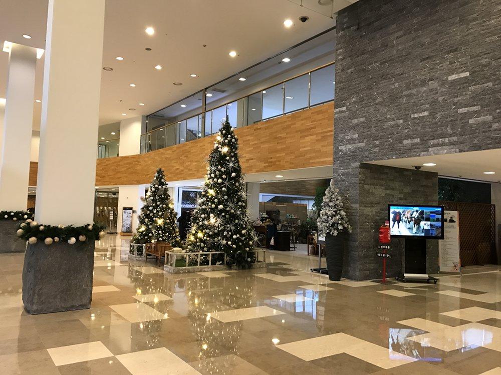 Phoenix Island Resort lobby