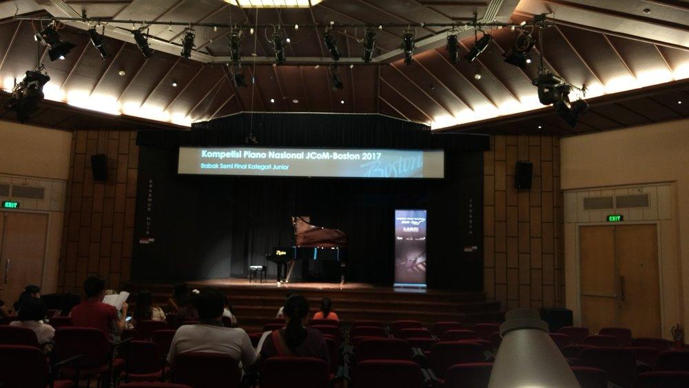 Erasmus Huis Concert Hall