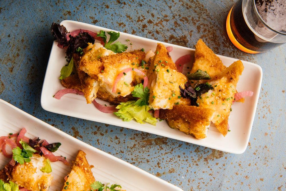 Borgne's Shrimp Toast
