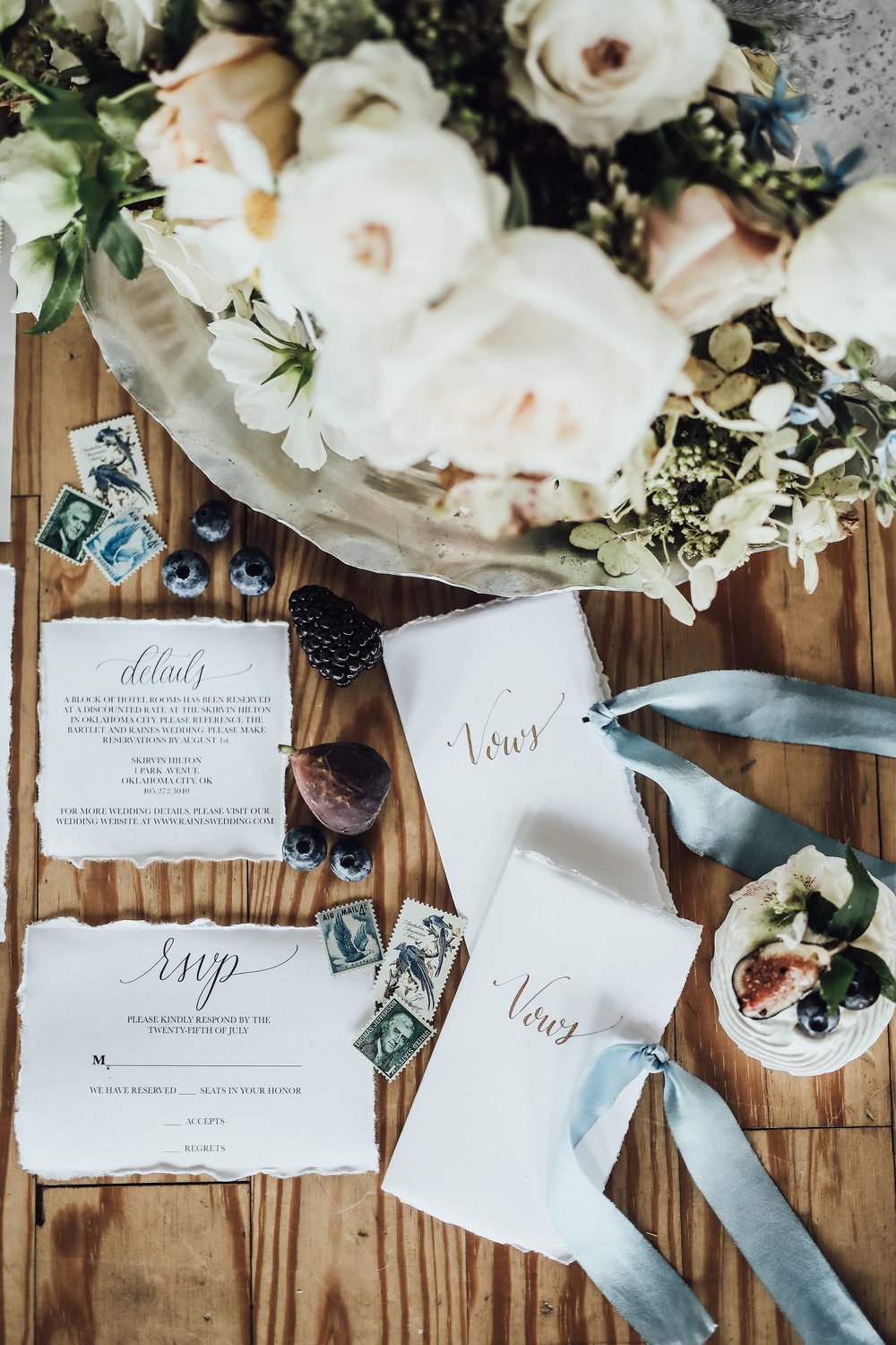 Photo by Rachel Photographs | Flowers by The Wild Mother | Stationery by Celeste Paper Co.