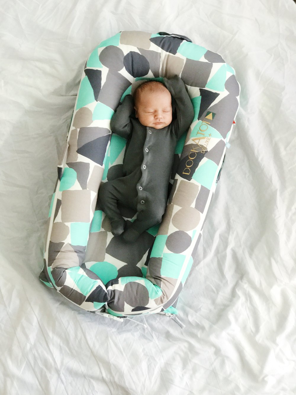 DOCATOT - This is a legit baby whisperer. Read about our experience with the Docatot here!