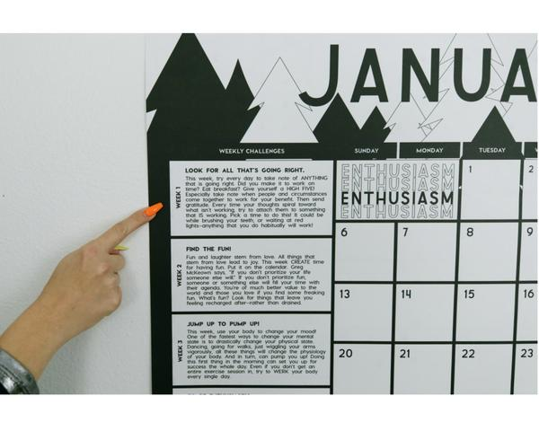 Year of AWESOME Calendar - The Alison Show