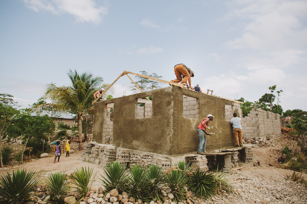BUILDING  HOMES