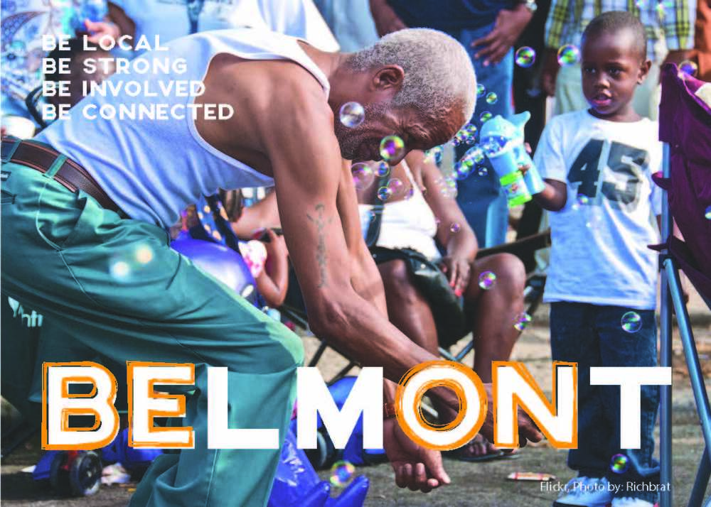BE ON BELMONT | Communications Design