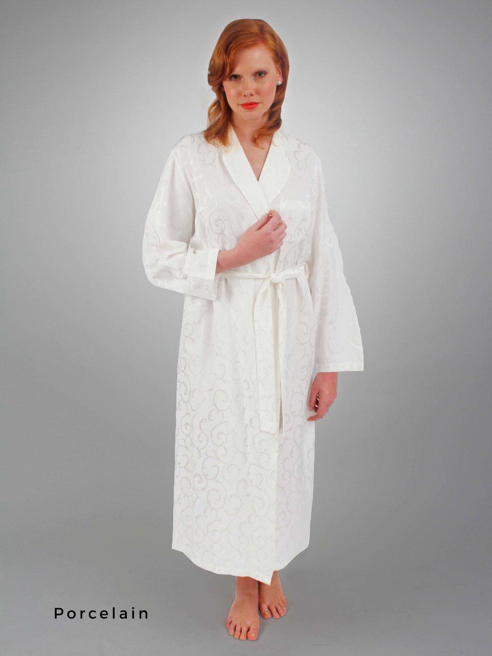 70ca317155d CELAIST Long Robe — Linda Hartman Intimates