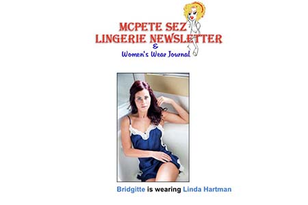 MCPETE SEZ LINGERIE NEWSLETTER: IMAGE ANGELINA