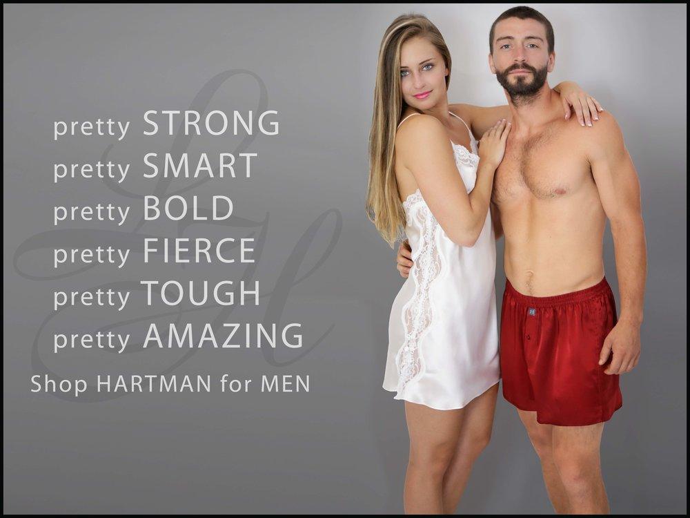 HARTMAN Silk Boxers