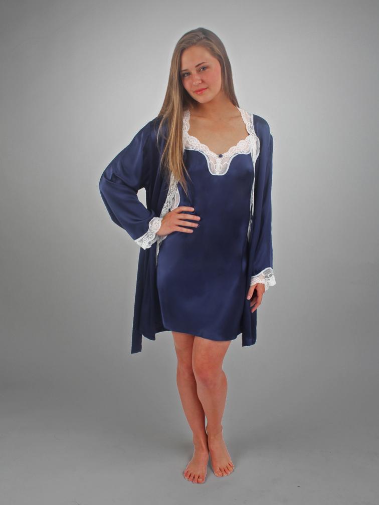 ANGELINA - Chemise & Short Robe