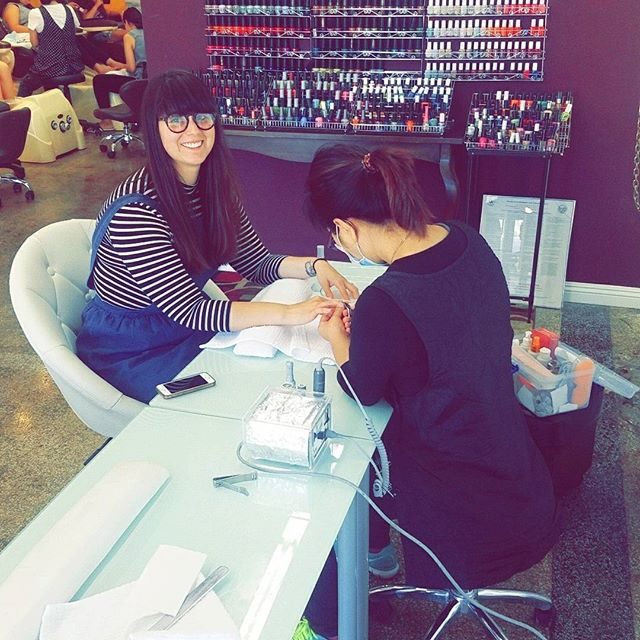 Host your next bachelorette/girls day at Tip to Toe! #bacheloretteparty #girlsday #nails💅 #pedicure #manicure #massage #tiptotoe #losangeles #usc #tradetech #mountstmary #figueroacorridor #LA