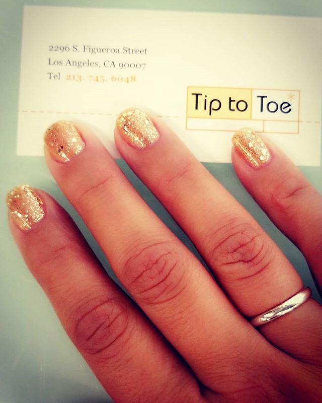 Have a special occasion? Drop on by and we'll make your nails shine!! #tiptotoe #nails #usc #lattc #losangeles #nailart #mani #pedi